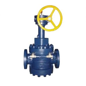 Double Block & Bleed Expanding Plug Valve
