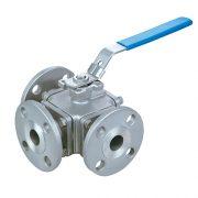 multi-way ball valve