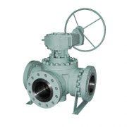 multi-way ball valve-cast