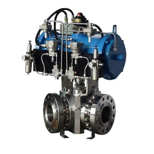 multi-way ball valve-forge