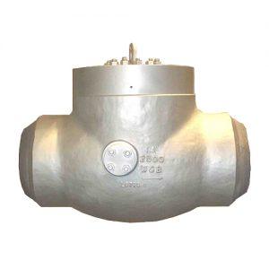 pressure seal check valve