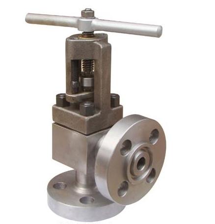 right angle globe valve