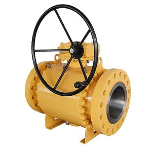trunnion ball valve-forge