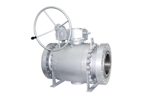 trunnion ball valve-forge