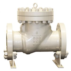 API 6D swing-check-valve